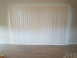 Vertical blinds closed jhs