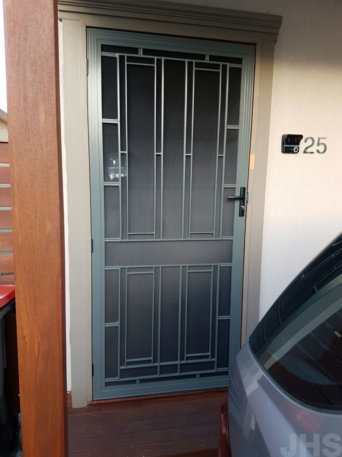 Barrier Doors Colonial Vista Stainless Steel Jhs