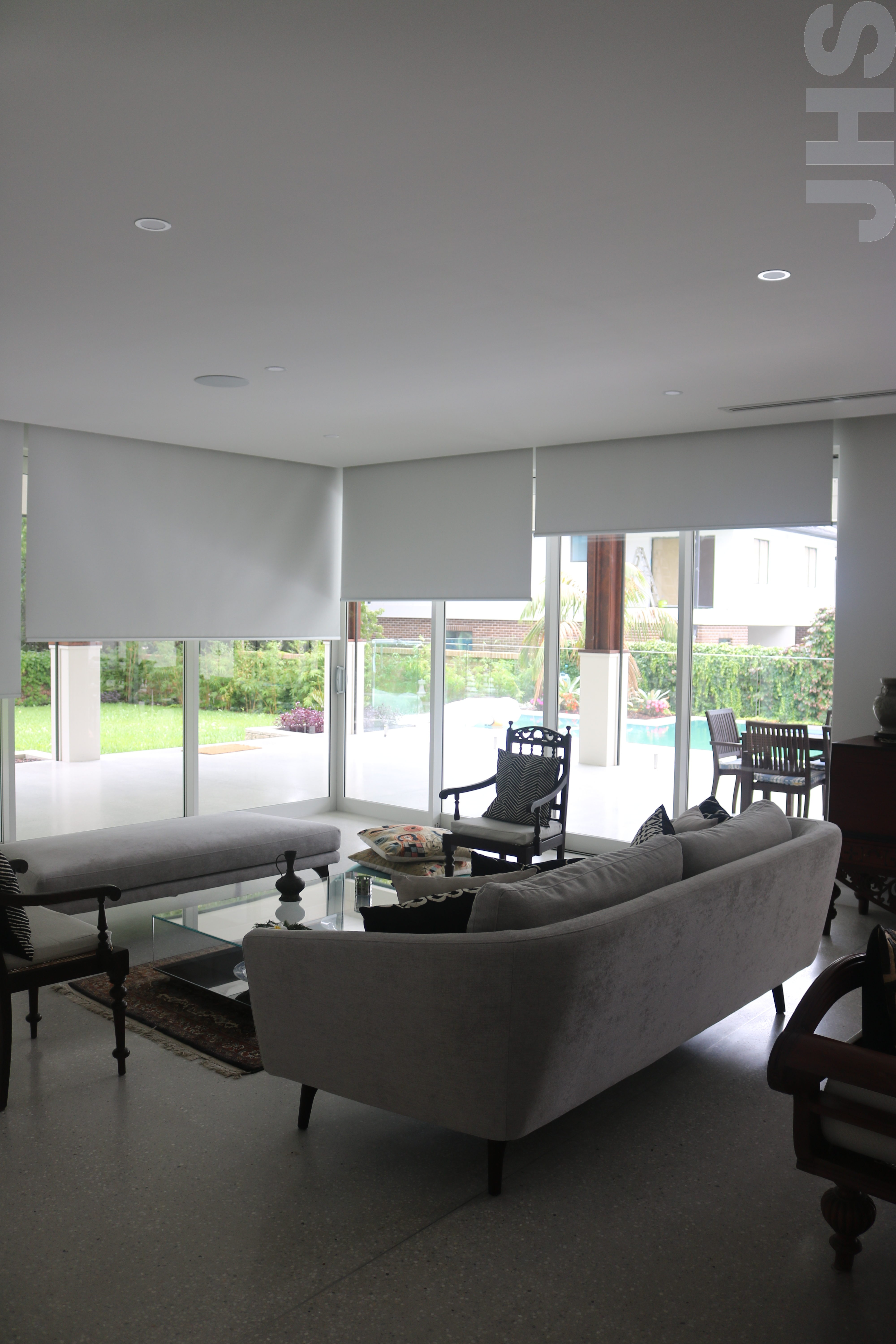 blinds pin com window automated always lutron track unison together motorized shades in beautiful