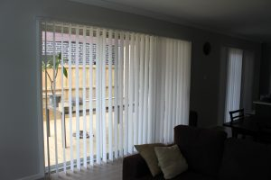 Vertical blinds open jhs