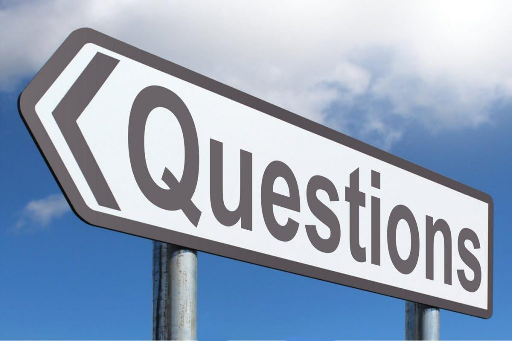 questions sign