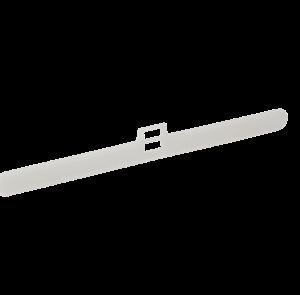 Louvre hanger for vertical blinds