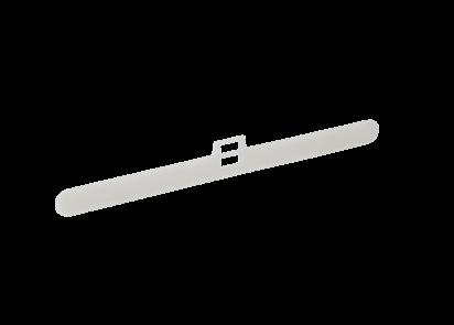 Vertical blind louvre hanger